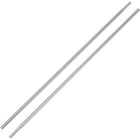 CAMPZ Aluminium Tent Pole with 8.5mm Sleeve Set of 2, silver